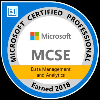 MCSE-Data-Management-and-Analytics-2018
